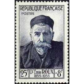 France num Yvert 993 ** MNH Emile Roux Année 1954