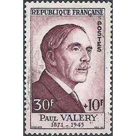 France num Yvert 994 ** MNH Paul Valery Année 1954