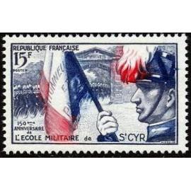 France num Yvert 996 ** MNH St Cyr Année 1954