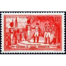 France num Yvert 997 ** MNH Legion d'honneur Napoleon Année 1954