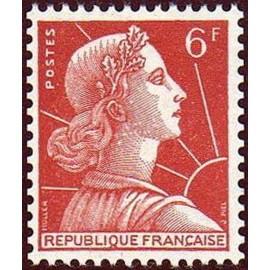 France num Yvert 1009A ** MNH Muller  Année 1955