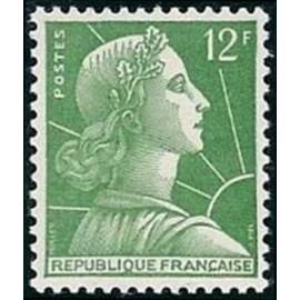 France num Yvert 1010 ** MNH Muller  Année 1955