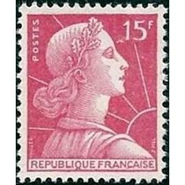 France num Yvert 1011 ** MNH Muller  Année 1955