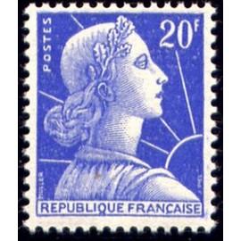 France num Yvert 1011B ** MNH Muller  Année 1955