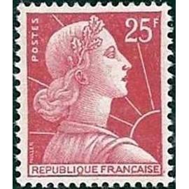 France num Yvert 1011C ** MNH Muller  Année 1955