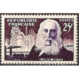 France num Yvert 1016 ** MNH Acier Martin Année 1955