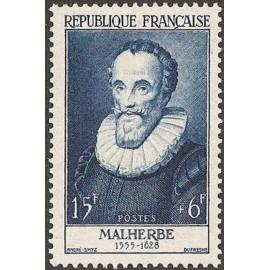 France num Yvert 1028 ** MNH de Malherbe Poete Année 1955