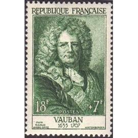 France num Yvert 1029 ** MNH Vauban Année 1955