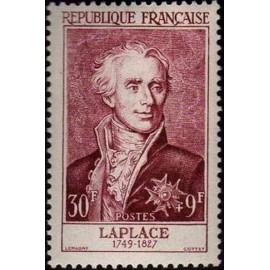 France num Yvert 1031 ** MNH Laplace Année 1955