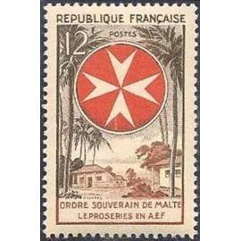 France num Yvert 1062 ** MNH Ordre de Malte Année 1956