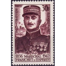 France num Yvert 1064 ** MNH Franchet Année 1956