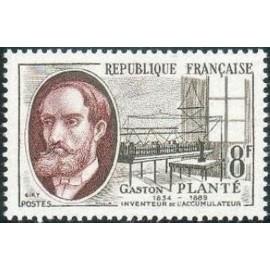 France num Yvert 1095 ** MNH Planté electricité Année 1957