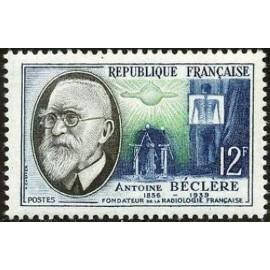 France num Yvert 1096 ** MNH Bedere radiologie Année 1957