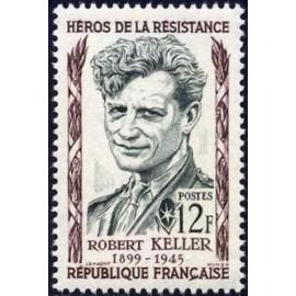 France num Yvert 1102 ** MNH Resistance Keller Année 1957