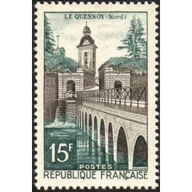 France num Yvert 1106 ** MNH Vauban Pont Année 1957