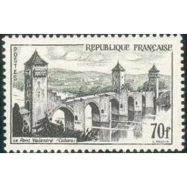 France num Yvert 1119 ** MNH Cahors Année 1957