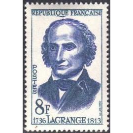 France num Yvert 1146 ** MNH Lagrange Année 1958