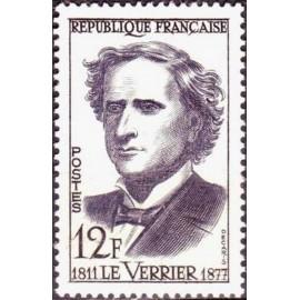 France num Yvert 1147 ** MNH Urbain Le Verrier Année 1958