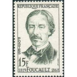 France num Yvert 1148 ** MNH Leon Foucault Année 1958