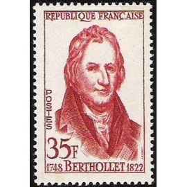France num Yvert 1149 ** MNH Berthollet Année 1958