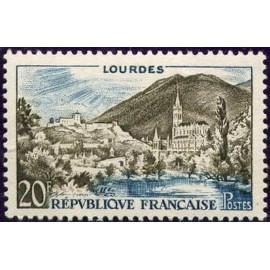 France num Yvert 1150 ** MNH Lourdes Année 1958