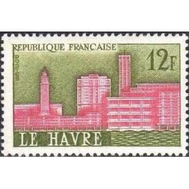 France num Yvert 1152 ** MNH Le Havre Année 1958