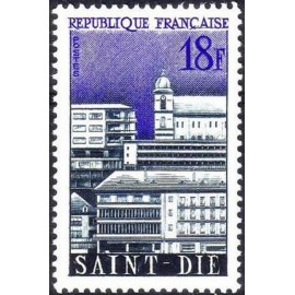 France num Yvert 1154 ** MNH St Die Année 1958