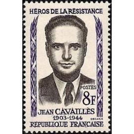 France num Yvert 1157 ** MNH Resistance Cavaillon Année 1958