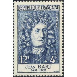 France num Yvert 1167 ** MNH Jean Bart Année 1958