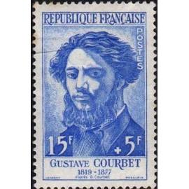 France num Yvert 1169 ** MNH Gustave Courbet Année 1958