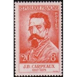 France num Yvert 1170 ** MNH JB Carpeaux Année 1958