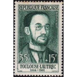 France num Yvert 1171 ** MNH Toulouse Lautrec Année 1958