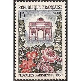 France num Yvert 1189 ** MNH Floralies caroussel Année 1959