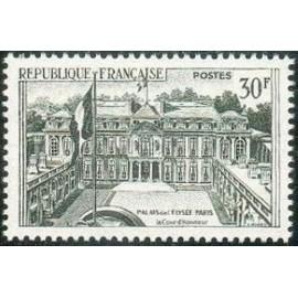 France num Yvert 1192 ** MNH Paris Année 1959
