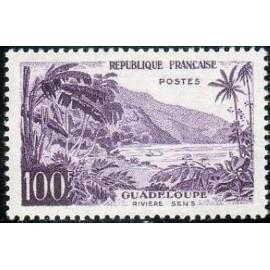 France num Yvert 1194 ** MNH Sens à la Guadeloupe Année 1959