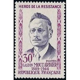 France num Yvert 1202 ** MNH Resistance Moutardier Année 1959