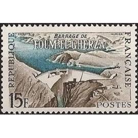 France num Yvert 1203 ** MNH Barrage Algerie Année 1959