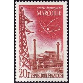 France num Yvert 1204 ** MNH Atome Marcoule Année 1959