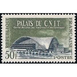 France num Yvert 1206 ** MNH CNIT Paris Année 1959