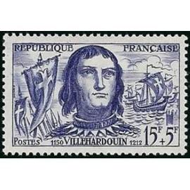 France num Yvert 1207 ** MNH  de la Villehardouin Année 1959