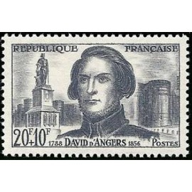 France num Yvert 1210 ** MNH David d' Angers Année 1959