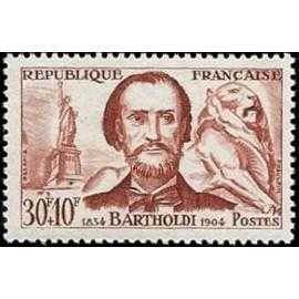 France num Yvert 1212 ** MNH Bartholdi Année 1959