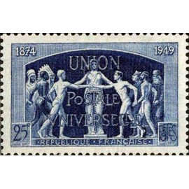 France num Yvert 852 ** MNH UPU Année 1949