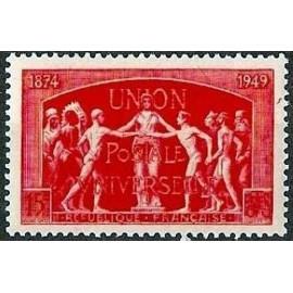 France num Yvert 851 ** MNH UPU Année 1949