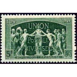France num Yvert 850 ** MNH UPU Année 1949