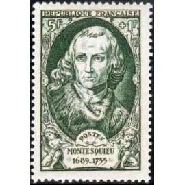 France num Yvert 853 ** MNH Montesquieu Année 1949
