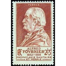 France num Yvert 748-749 ** MNH Fournier medecin Becquerel Année 1946