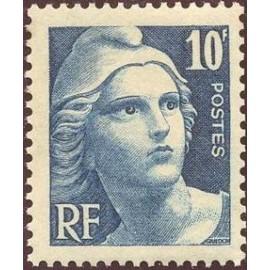 France num Yvert 726 ** MNH Marianne de Gandon Année 1945