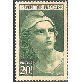 France num Yvert 730 ** MNH Marianne de Gandon Année 1945