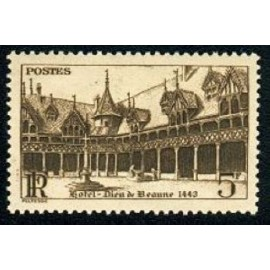 France num Yvert 499 ** MNH Beaune Année 1941